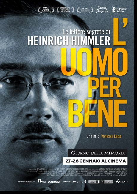 Locandina di L'uomo per bene - Le lettere segrete di Heinrich Himmler