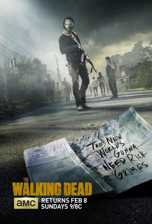 The Walking Dead: un poster per la quinta stagione della serie