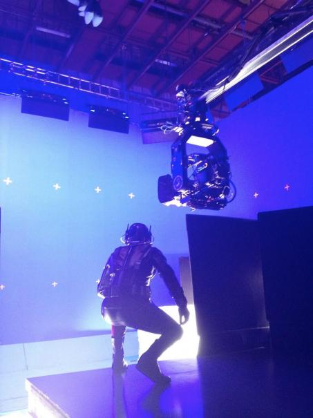 Ant-Man: Paul Rudd sul set impegnato in una sequenza action