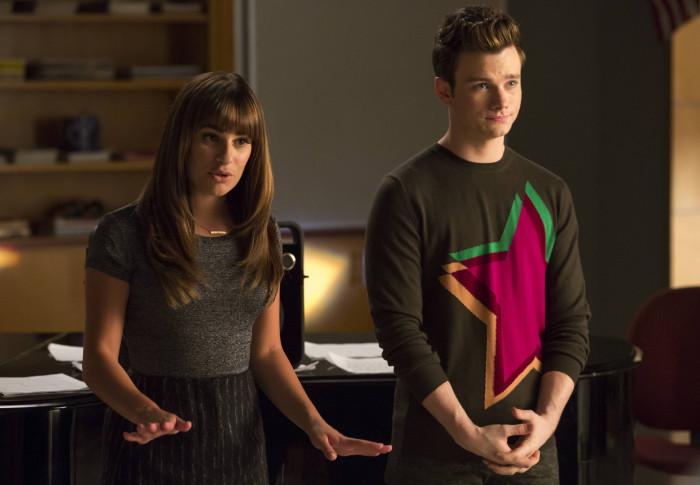 Glee: Lea Michele e Chris Colfer interpretano Rachel e Kurt in Homecoming