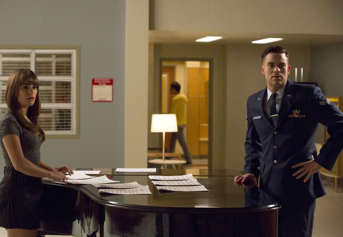 Glee: Lea Michele e Mark Salling in Homecoming