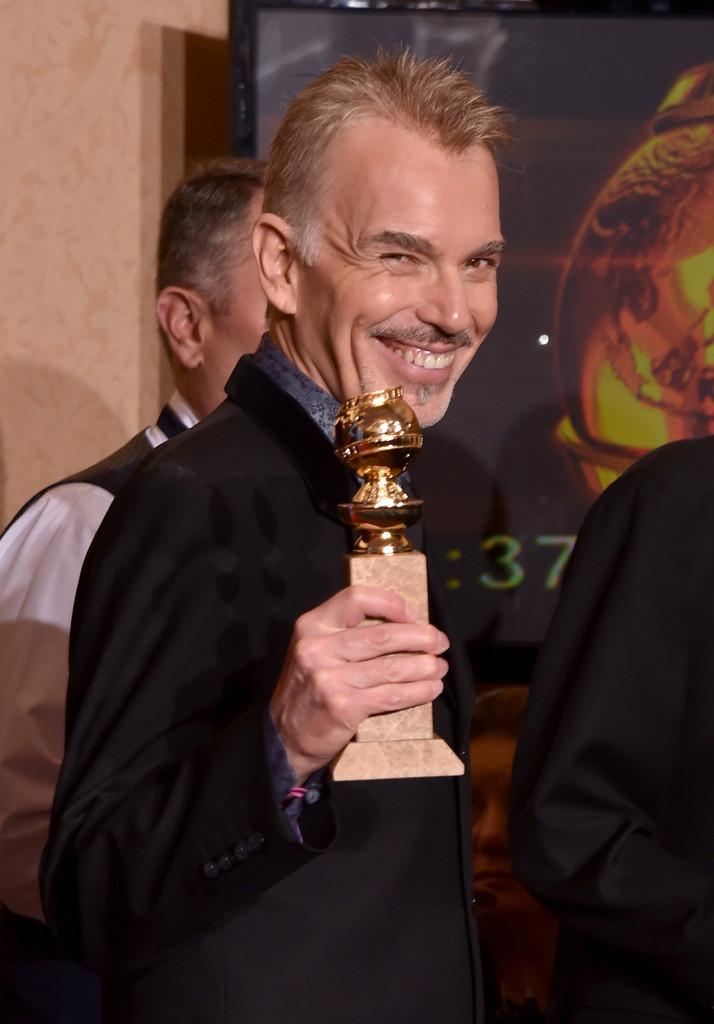 Billy Bob Thornton ai Golden Globes 2015, vince per Fargo