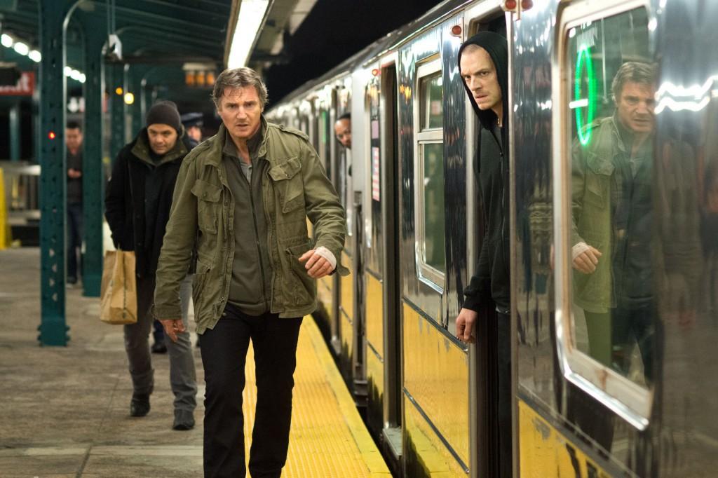 Liam Neeson e Joel Kinnaman in Run All Night