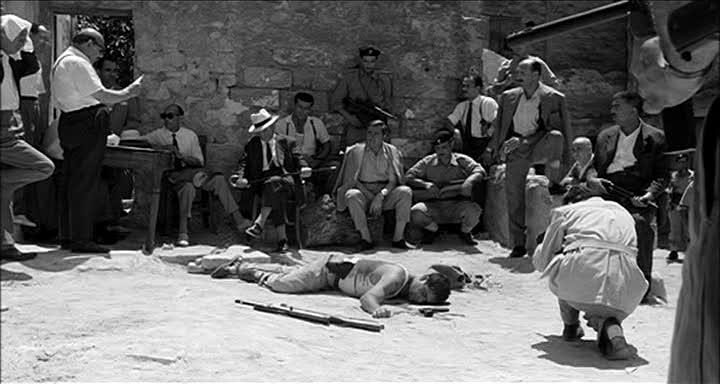 Salvatore Giuliano - una scena del film di Rosi