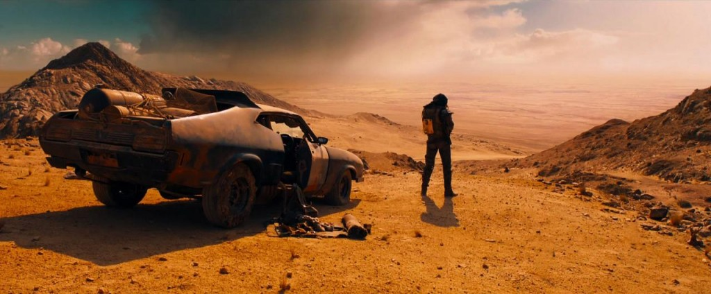 Mad Max: Fury Road,  una scena del film