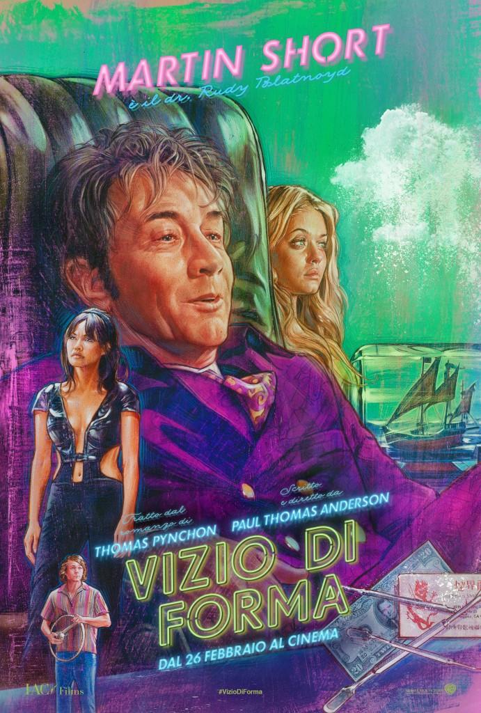 Vizio di forma: il character poster italiano di Martin Short