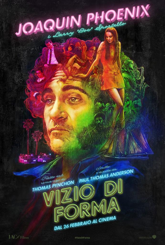 Vizio di forma: il character poster italiano di Joaquin Phoenix