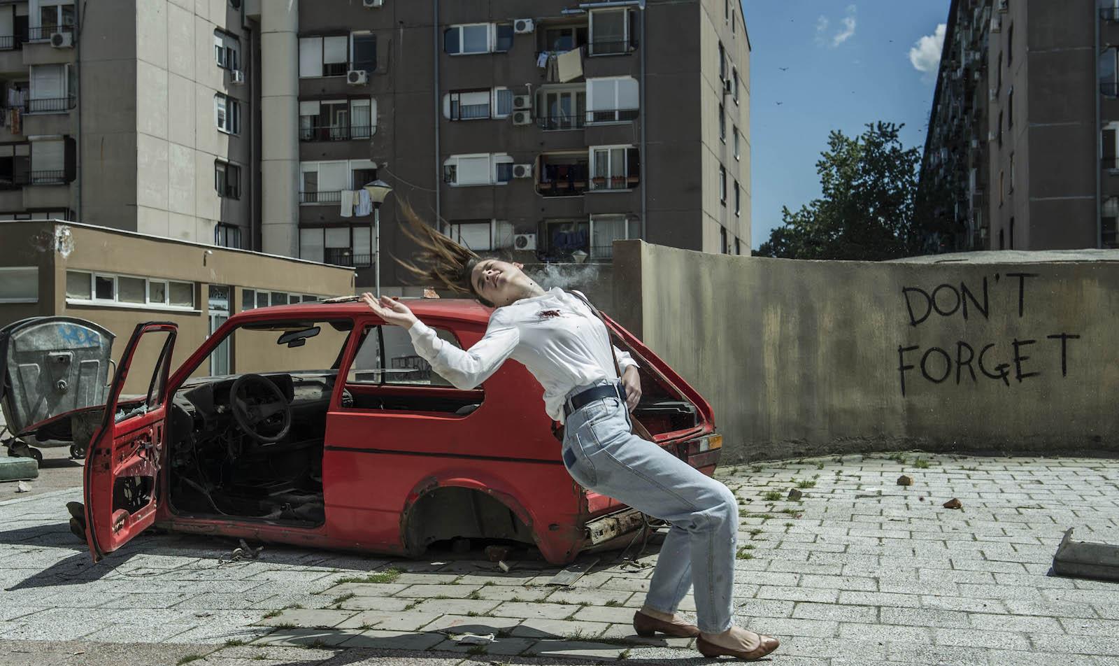 L'angelo di Sarajevo: un momento della fiction