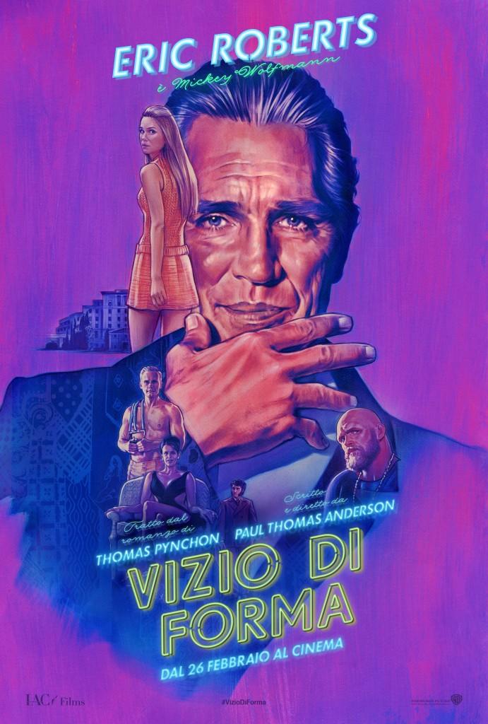 Vizio di forma: il character poster italiano di Eric Roberts