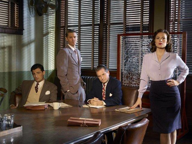 Agent Carter: il cast in una foto promozionale della serie ABC