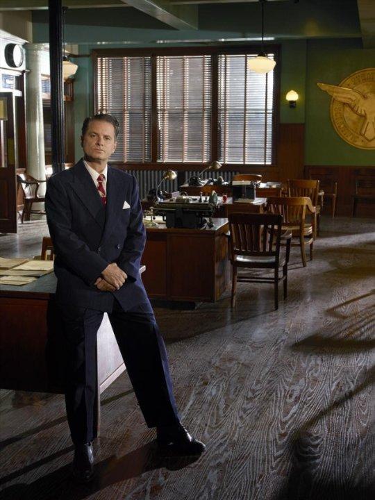 Agent Carter: Shea Whigham in una foto promozionale della serie ABC