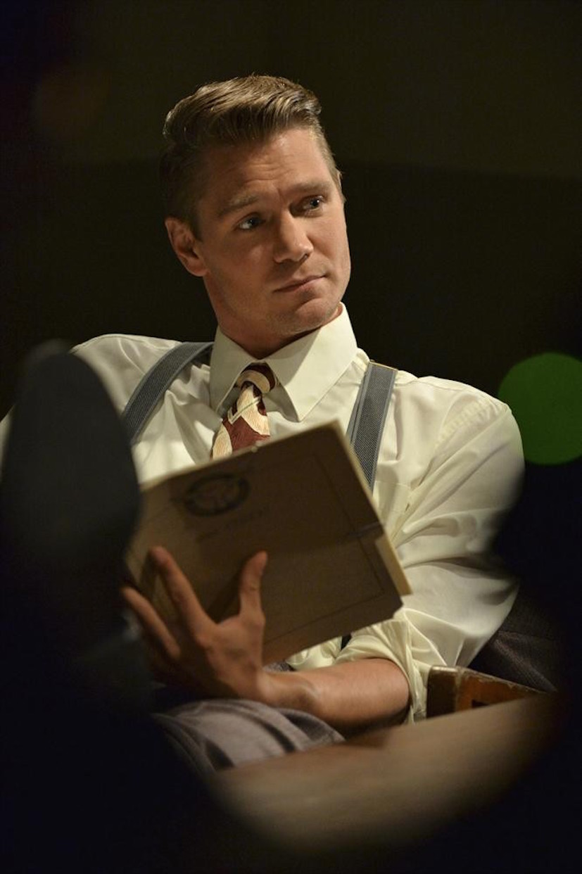 Agent Carter: Chad Michael Murray in una scena di Time and Tide