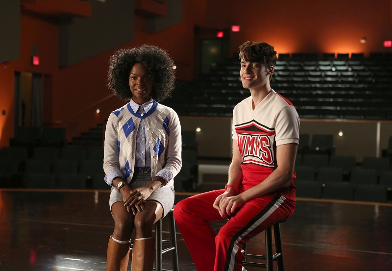Glee: Samantha Ware e Billy Lewis Jr. in Jagged Little Tapestry