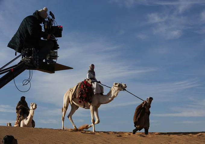 Queen of the Desert: il set nel deserto