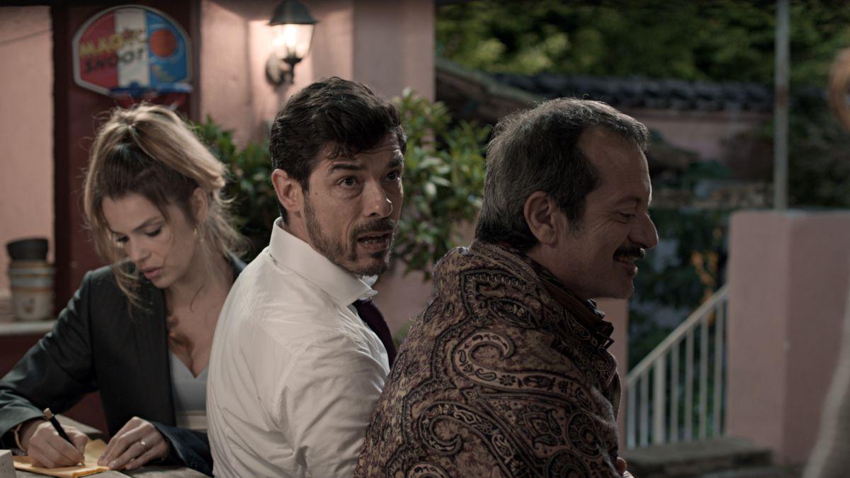 Il nome del figlio: Micaela Ramazzotti con Rocco Papaleo e Alessandro Gassman in una scena