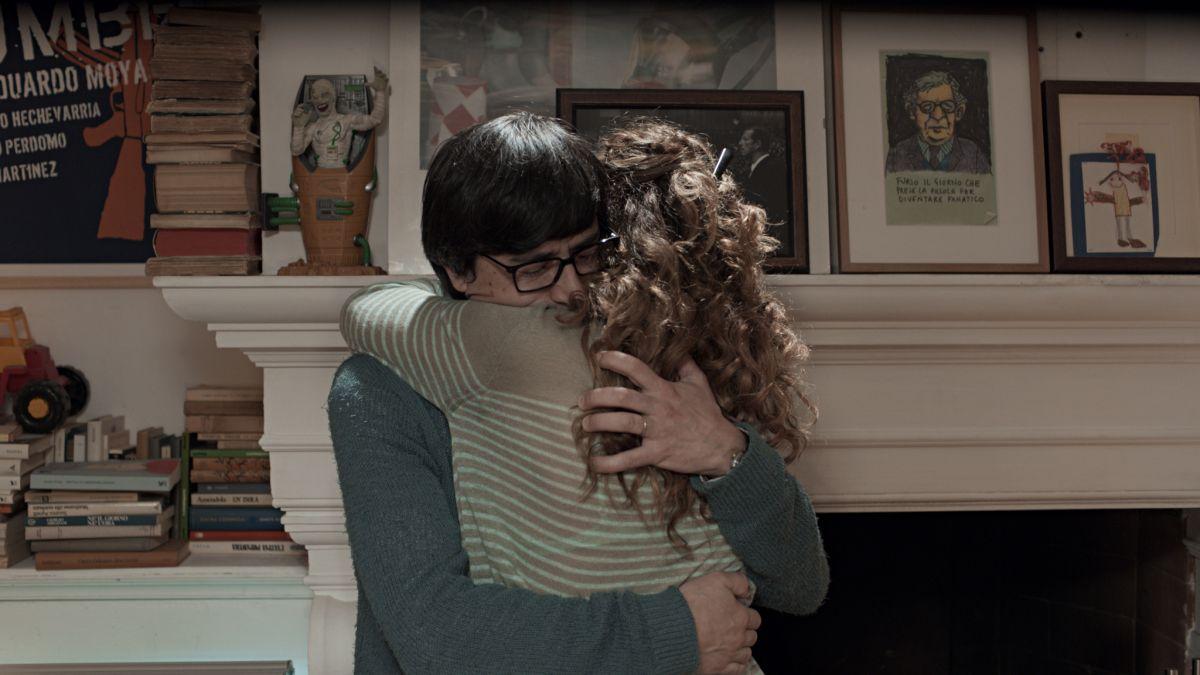 Il nome del figlio: Valeria Golino abbraccia Luigi Lo Cascio in una scena