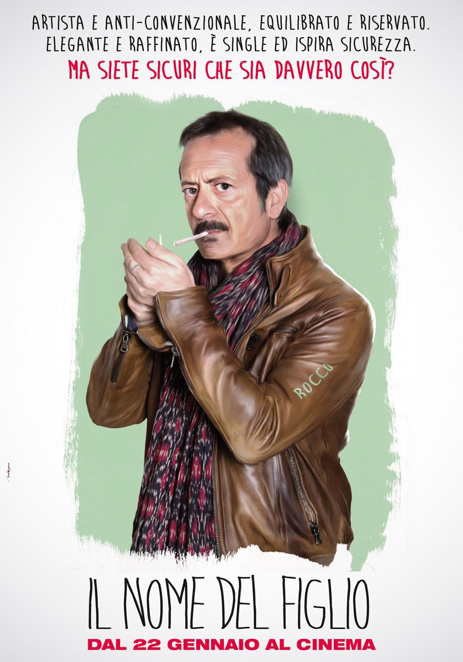 Il nome del figlio: il character poster dedicato a Rocco Papaleo
