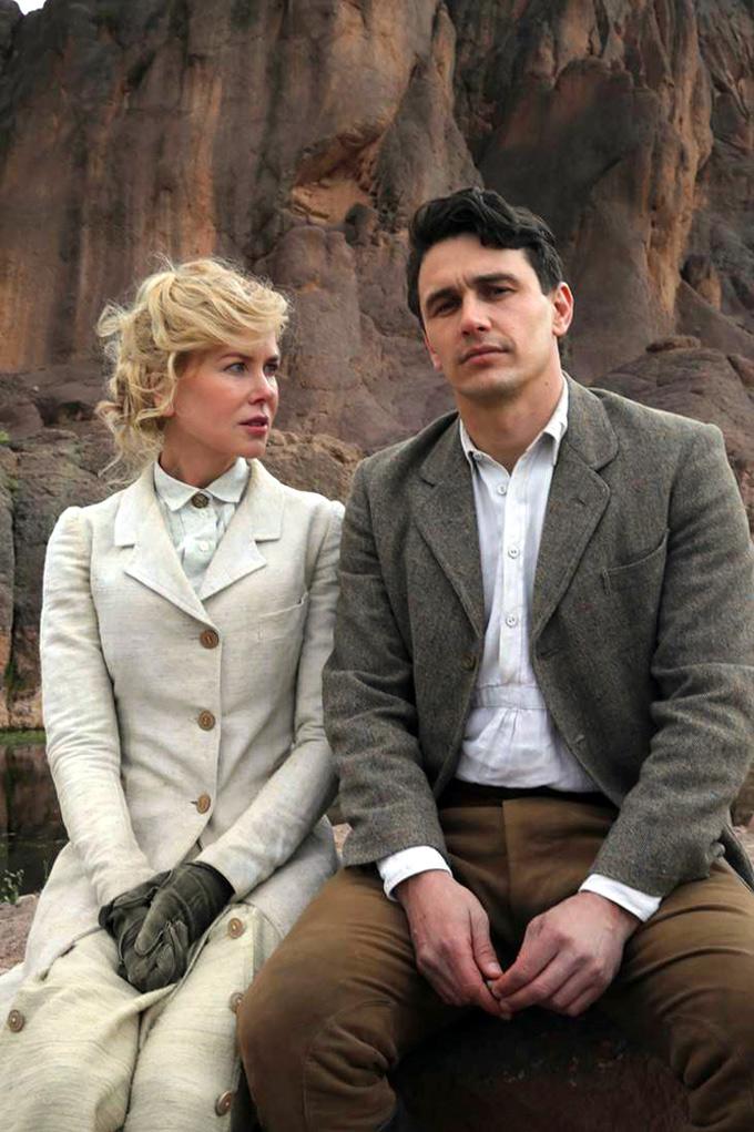 Queen of the Desert: James Franco e Nicole Kidman sul set