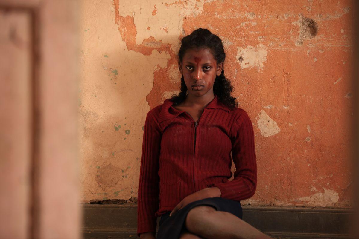 Difret - Il coraggio per cambiare: Tizita Hagere in una scena del dramma