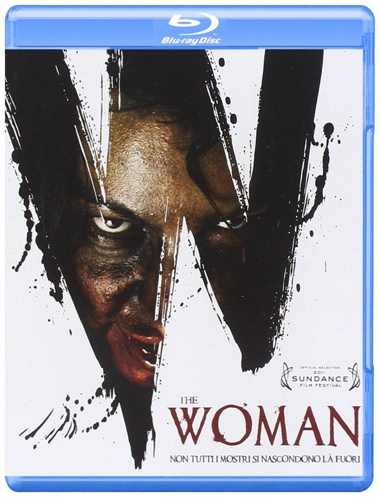 La cover del blu-ray di The Woman