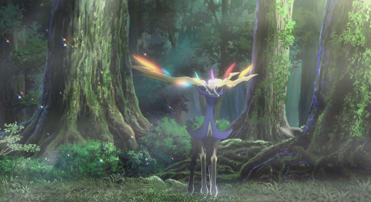 Pokémon Il Film - Diancie e il Bozzolo della Distruzione: una scena