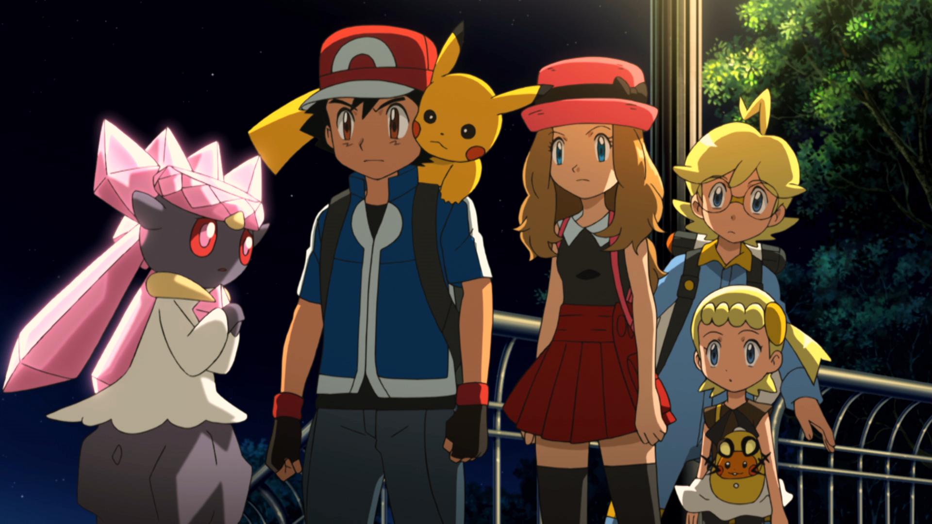 Pokémon Il Film - Diancie e il Bozzolo della Distruzione: un'immagine tratta dal film animato