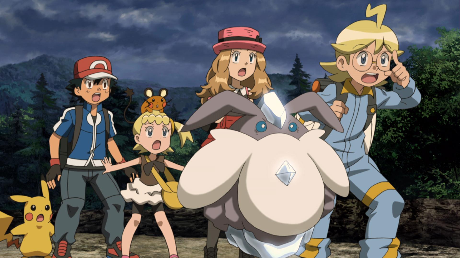 Pokémon Il Film - Diancie e il Bozzolo della Distruzione: una scena tratta dal film animato