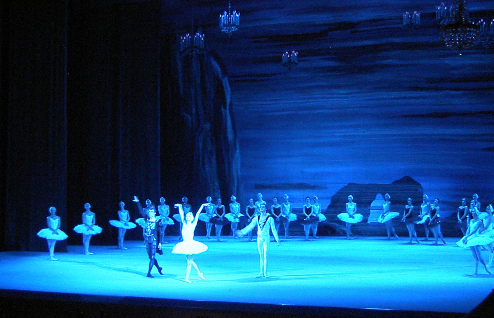 Il Balletto del Bolshoi di Mosca - Il lago dei cigni: una scena tratta dallo spettacolo