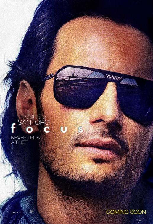 Focus - Niente è come sembra: il character poster di Rodrigo Santoroo