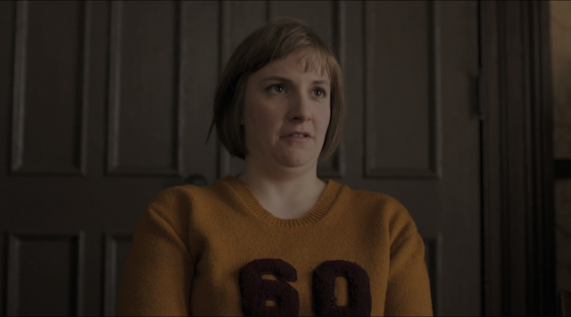 Girls: l'attrice Lena Dunham in Triggering