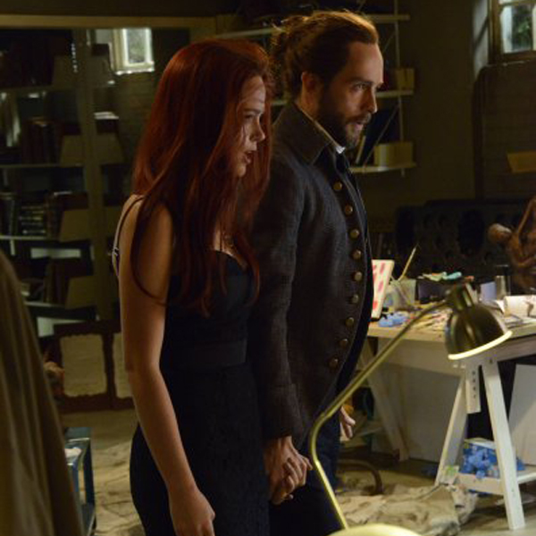 Sleepy Hollow: Katia Winter e Tom Mison nella puntata Pittura Infamante