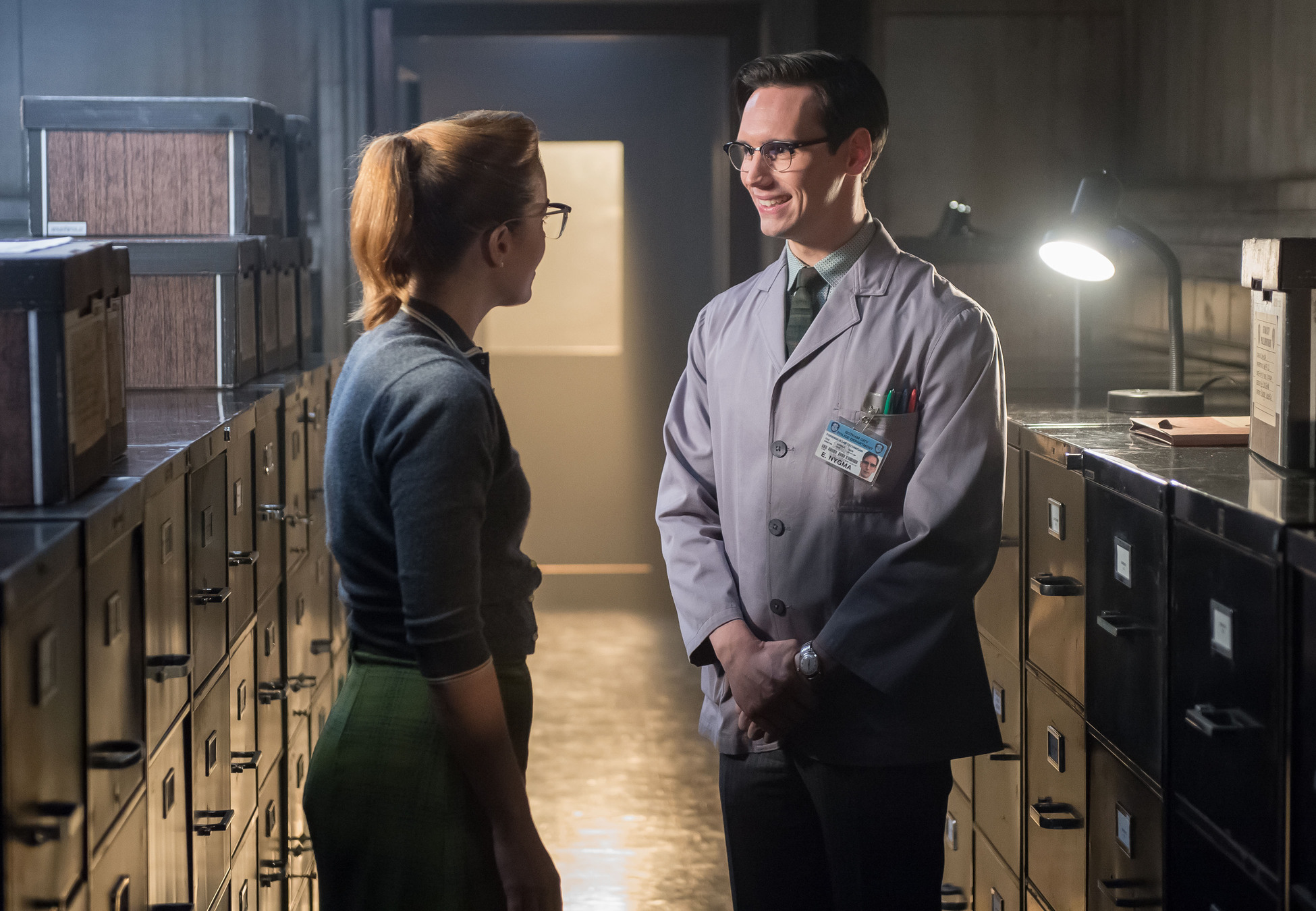 Gotham: Chelsea Spack e Cory Michael Smith in What the Little Bird Told Him