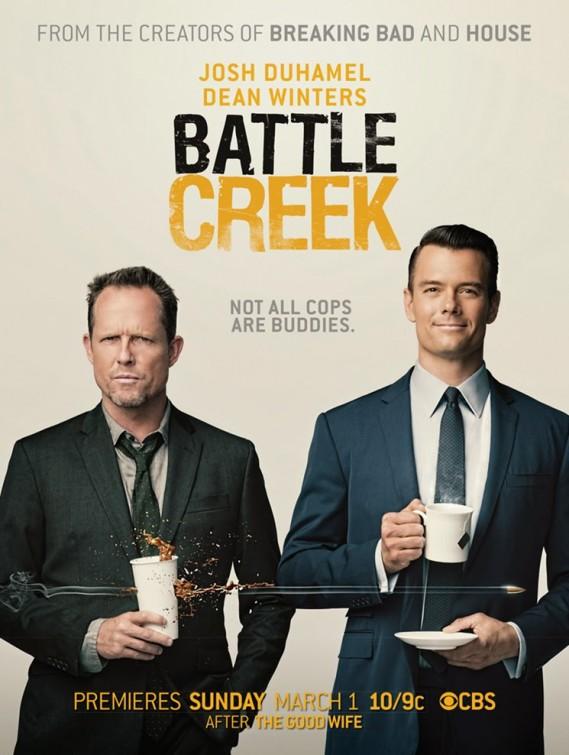 Battle Creek: una locandina per la serie
