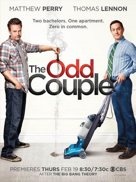 The Odd Couple: la locandina della serie