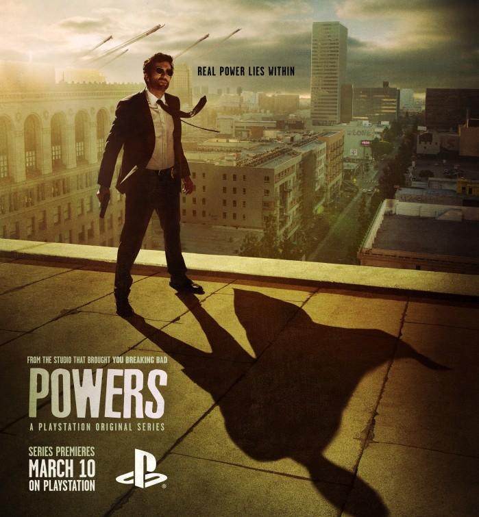 Powers: un poster per la serie