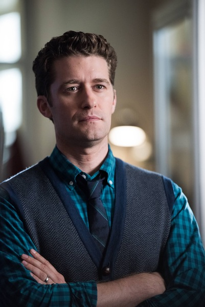 Glee: l'attore Matthew Morrison nell'episodio The Hurt Locker, Part 1