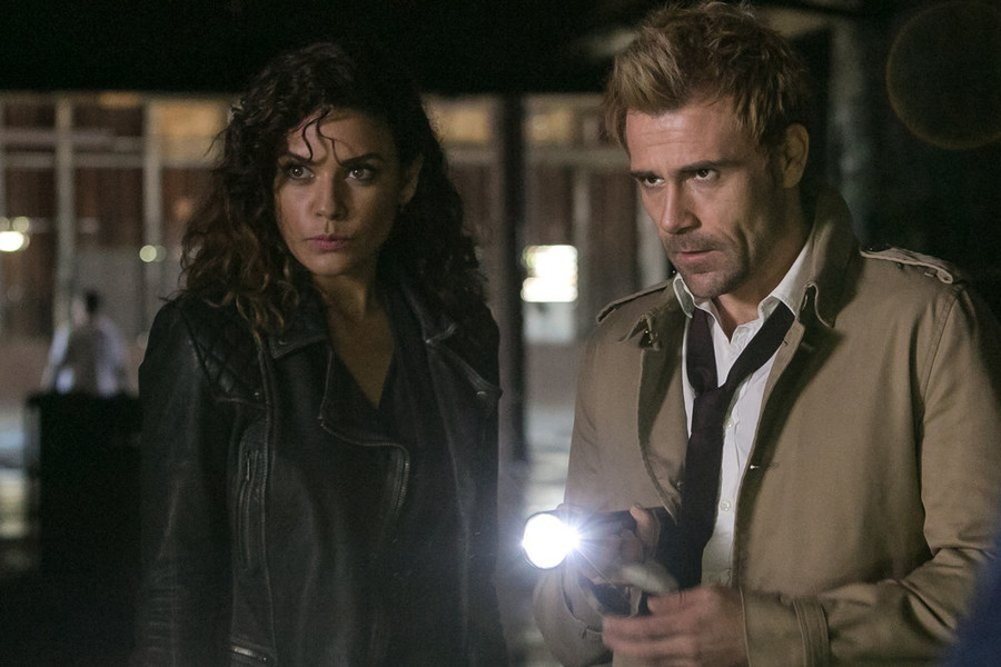 Constantine: Angélica Celaya e Matt Ryan sono Zed e John Constantine in Quid pro Quo