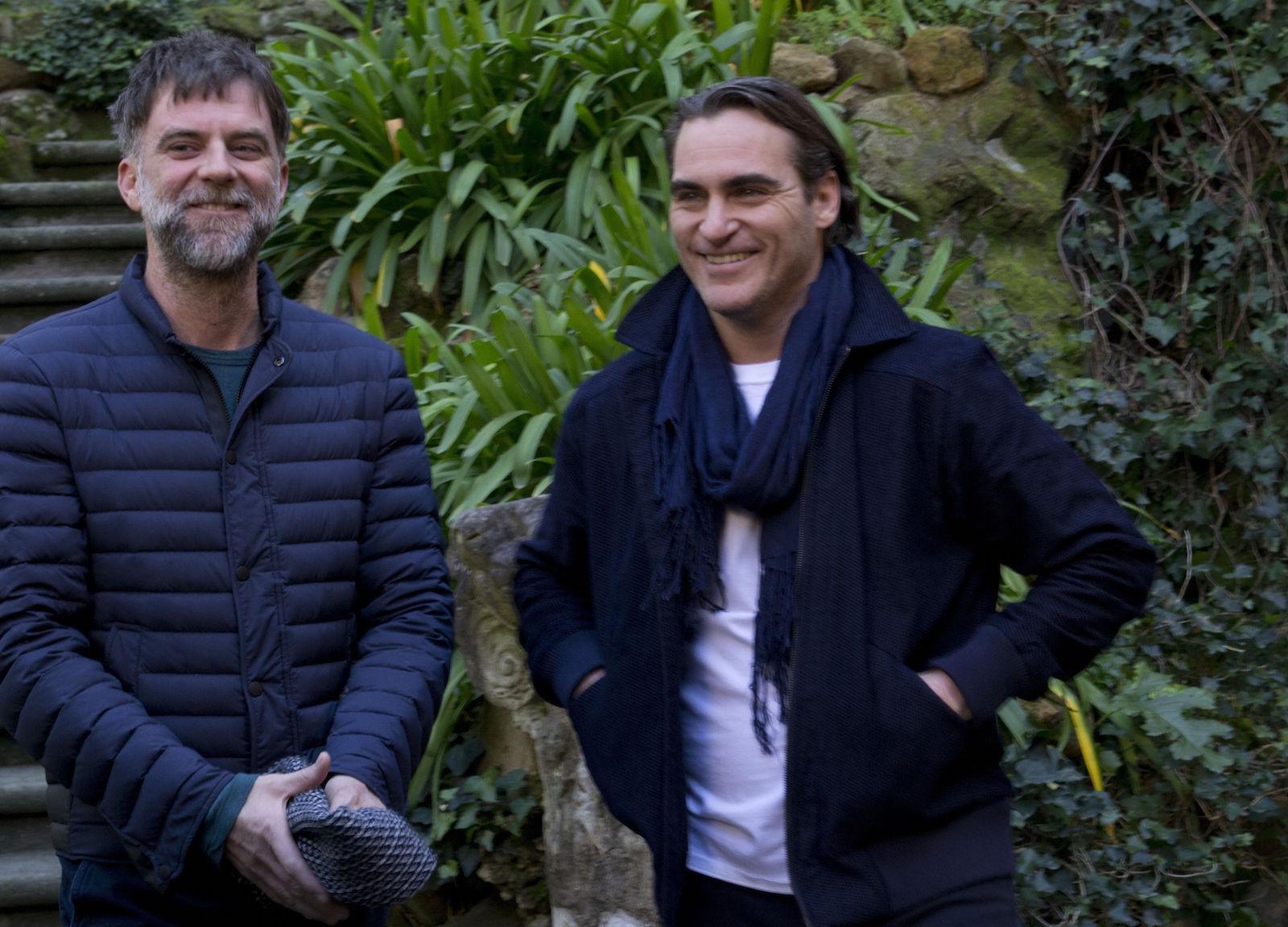 Vizio di forma: Paul Thomas Anderson e Joaquin Phoenix al termine del photocall romano