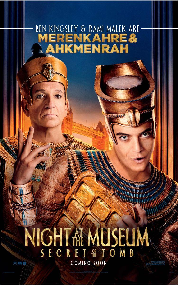 Notte Al Museo.Notte Al Museo Il Segreto Del Faraone Ben Kingsley E Rami Malek