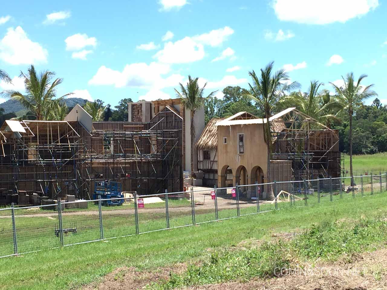 Pirati dei Caraibi 5: un'immagine del set in costruzione nel Queensland