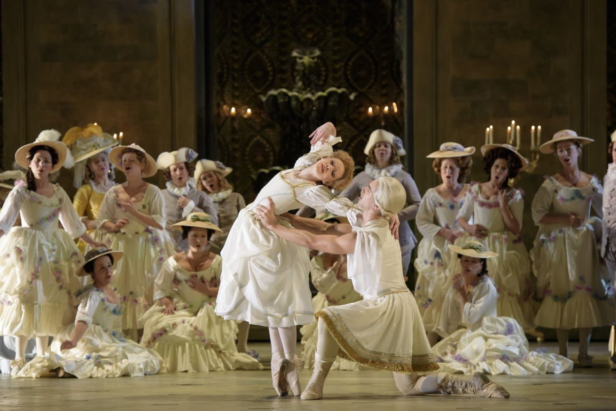 Royal Opera House - Andrea Chénier: una scena tratta dallo spettacolo