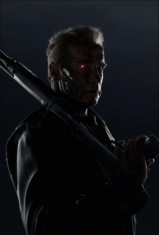 Terminator: Genisys - Un'immagine promozionale che ritrae Arnold Schwarzenegger