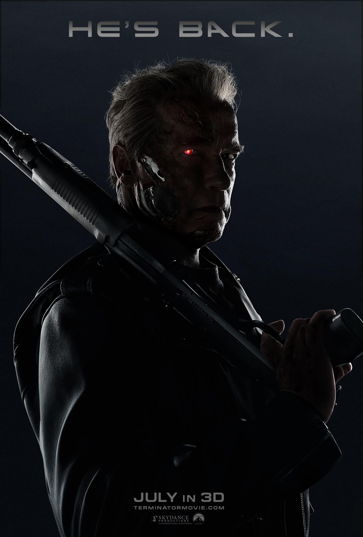 Terminator: Genisys - il poster dedicato ad Arnold Schwarzenegger