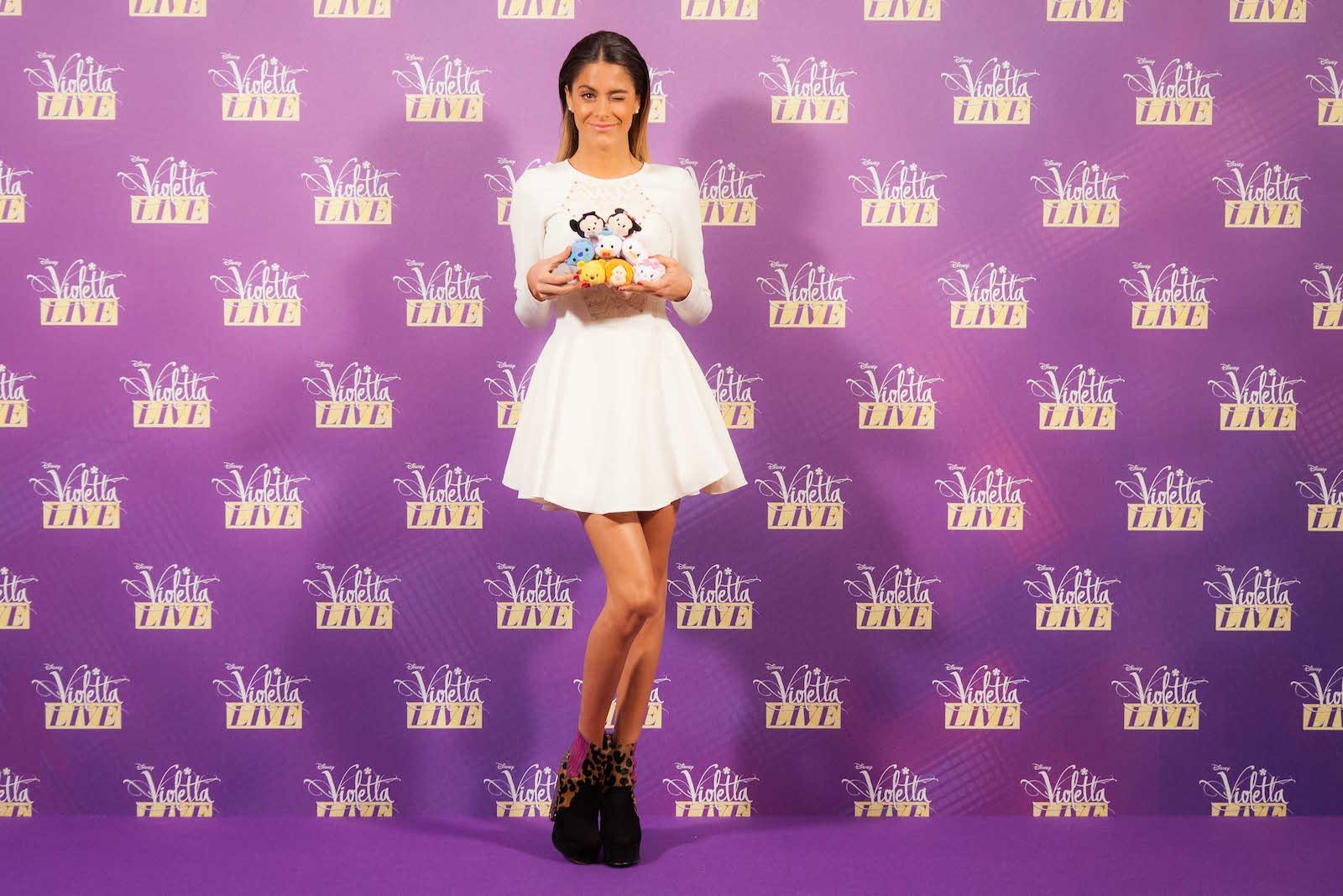Violetta: Martina Stoessel al photocall milanese