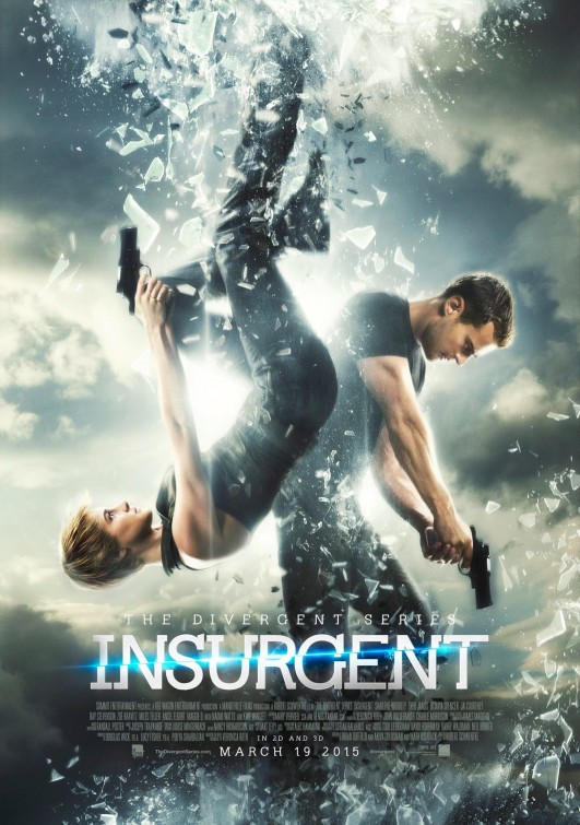 Locandina internazionale di The Divergent Series: Insurgent