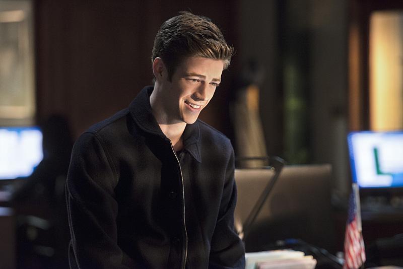 The Flash: Grant Gustin interpreta Barry Allen in The Sound and the Fury