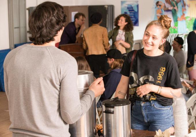 Girls: Adam Driver e Jemima Kirke nella puntata Female Author