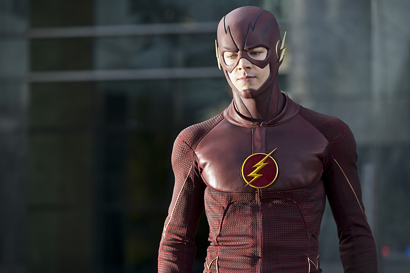 The Flash: Grant Gustin interpreta Barry Allen/Flash in The Sound and the Fury