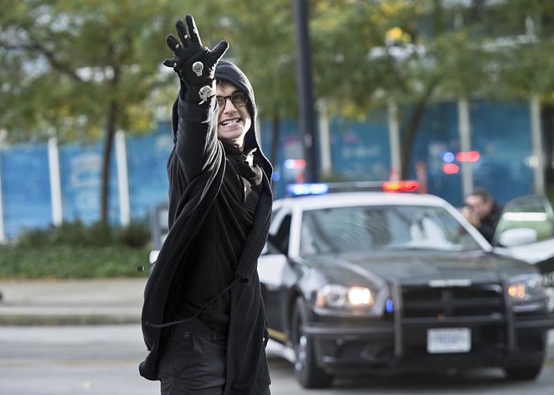 The Flash: l'attore Andy Mientus in una scena dell'episodio The Sound and the Fury