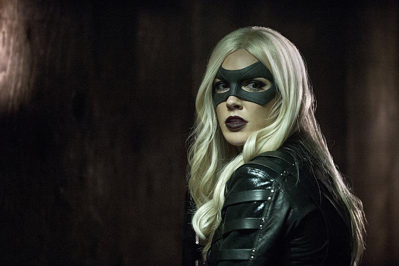 Arrow: l'attrice Katie Cassidy nell'episodio intitolato Midnight City